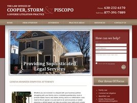 Firm Logo for Law Offices of <br />Cooper Storm & Piscopo