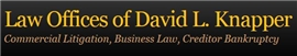 Law Offices of David L. Knapper Law Firm Logo
