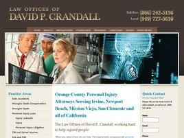 Firm Logo for Law Offices of David P. Crandall