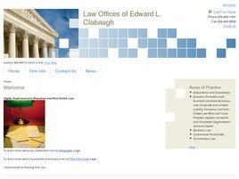 Firm Logo for Law Offices of Edward L. Clabaugh