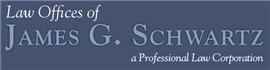 Law Offices of <br />James G. Schwartz P.C. Law Firm Logo