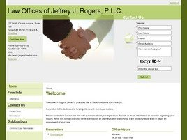 Law Offices of <br />Jeffrey J. Rogers, P.L.C. Law Firm Logo
