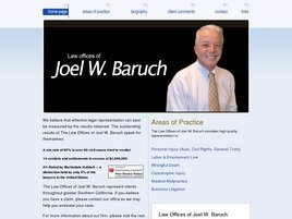 Law Offices of <br />Joel W. Baruch, PC Law Firm Logo