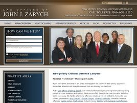 Firm Logo for Law Offices of John J. Zarych