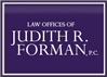 Firm Logo for Law Offices of Judith R. Forman P.C.