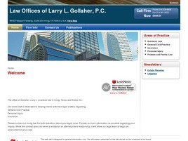 Law Offices of Larry L. Gollaher, P.C.