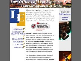 Law Offices of Lisa Esposito, P.A.