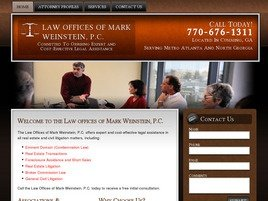 Firm Logo for Law Offices of <br />Mark Weinstein, P.C.