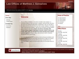 Firm Logo for Law Offices of Matthew J. Gonsalves
