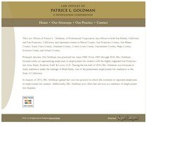 Firm Logo for Law Offices of <br />Patrice L. Goldman <br />A Professional Corporation
