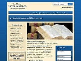 Law Offices of Peter G. Angelos A Professional Corporation