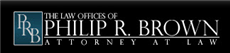 Firm Logo for Law Offices of Philip R. Brown