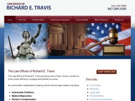 Firm Logo for Law Offices of Richard E. Travis