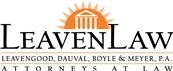 Firm Logo for LeavenLaw