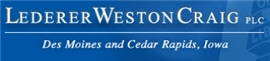 Lederer Weston Craig PLC Law Firm Logo