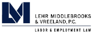 Lehr Middlebrooks & Vreeland, P.C. Law Firm Logo