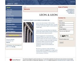 Firm Logo for Leon Leon