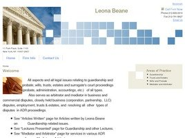 Firm Logo for Leona Beane