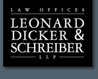 Firm Logo for Leonard, Dicker & Schreiber <br />Limited Liability Partnership