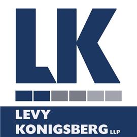 Levy Konigsberg, L.L.P. Law Firm Logo