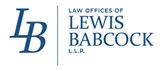 Lewis Babcock L.L.P. Law Firm Logo