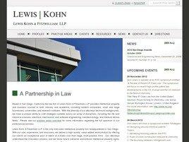 Firm Logo for Lewis Kohn Walker LLP