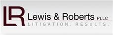 Lewis & Roberts, P.L.L.C. Law Firm Logo