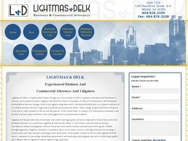 Lightmas & Delk Law Firm Logo