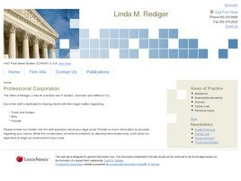 Firm Logo for Linda M. Rediger Professional Corporation