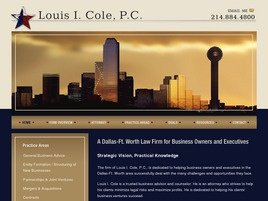 Firm Logo for Louis I. Cole P.C.
