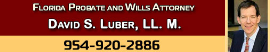 Firm Logo for David S. Luber LL.M. The Estate Planning Law Firm P.A.