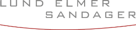 Lund Elmer Sandager Law Firm Logo