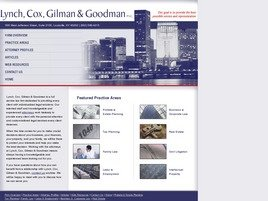 Firm Logo for Lynch Cox Gilman Goodman P.S.C.
