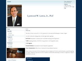 Lynwood W. Lewis, Jr. <br />Attorney at Law Law Firm Logo