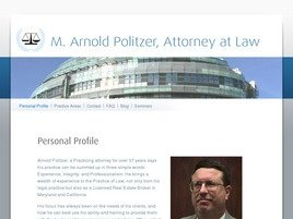 Firm Logo for M. Arnold Politzer Associates