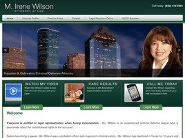 Firm Logo for M. Irene Wilson Attorney at Law