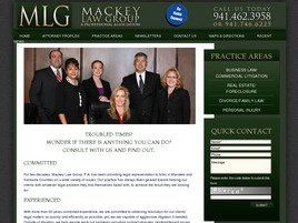 Mackey Law Group, P.A. Law Firm Logo