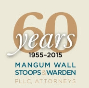 Firm Logo for Mangum Wall Stoops Warden P.L.L.C.