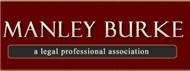 Manley Burke <br />A Legal Professional Association Law Firm Logo