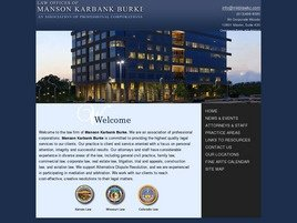Manson Karbank Burke Law Firm Logo