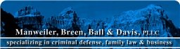 Manweiler, Breen, Ball & Davis, PLLC Law Firm Logo