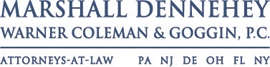 Firm Logo for Marshall Dennehey Warner Coleman Goggin P.C.