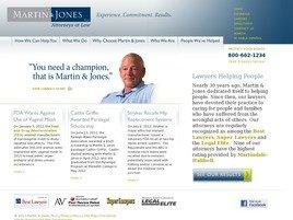 Martin & Jones, PLLC Law Firm Logo