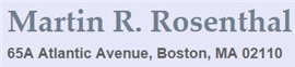 Martin R. Rosenthal Law Firm Logo