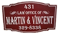 Firm Logo for Martin Vincent P.S.C.