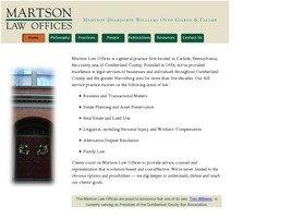 Martson Deardorff Williams Otto Gilroy & Faller A Professional Corporation