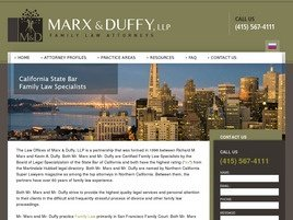 Firm Logo for Marx Duffy LLP