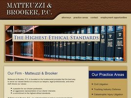 Matteuzzi & Brooker, P.C. Law Firm Logo