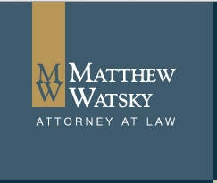 Firm Logo for Matthew Watsky <br />Attorney at Law