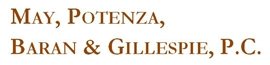 May, Potenza, <br />Baran & Gillespie, P.C. Law Firm Logo